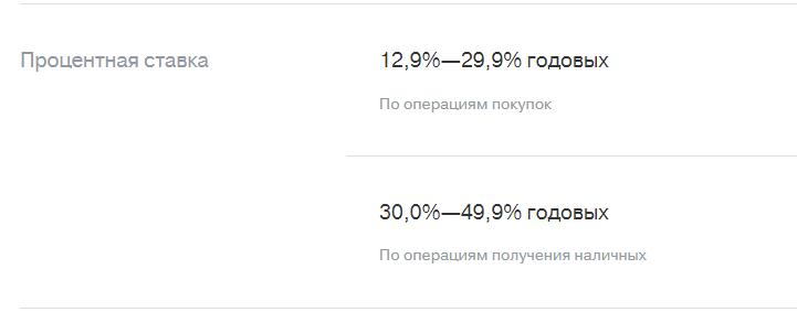 Процентный ставки